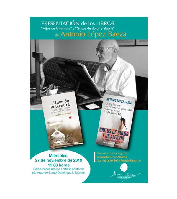 Presentación de libros de Antonio López Baeza